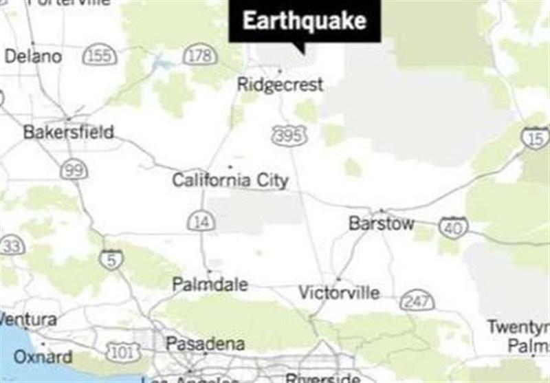 وضعیت فوق العاده در کانون زمین لرزه پنجشنبه در کالیفرنیای آمریکا