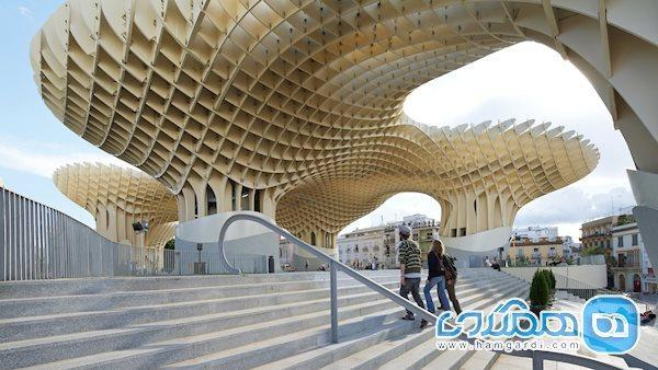 متروپل پارازول ، شگفت انگیزترین سازه چوبی دنیا