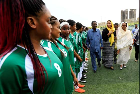 شروع کار اولین لیگ فوتبال زنان در سودان (