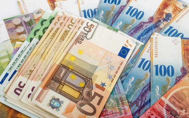 قیمت یورو کاهش یافت، افزایش نرخ پوند