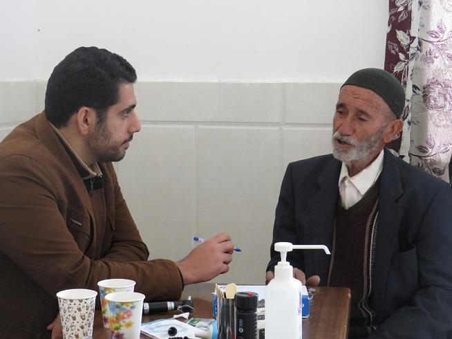 بیست و پنجمین اردوی جهادی پزشکی گروه شهید کاظمی آشتیانی برگزار گردید