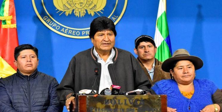 اوو مورالس رئیس جمهور بولیوی از سمت خود استعفا کرد