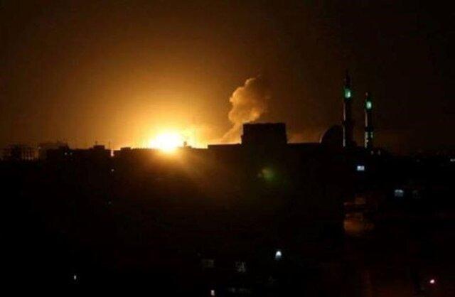 جنگنده های ناشناس به حومه حلب حمله کردند