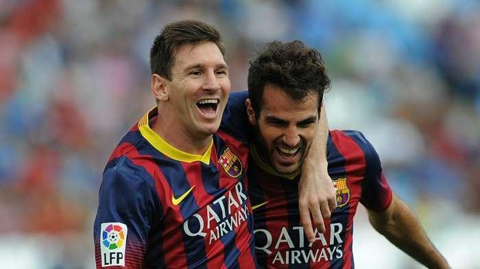 فابرگاس: مسی خودش را خدای فوتبال نمی داند
